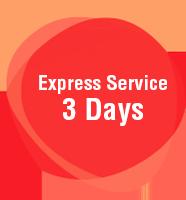 Express Service 3 Days